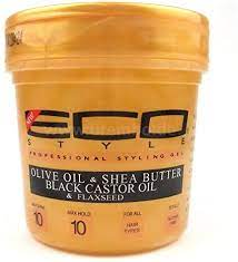 Gel Eco Styler Olive Oil and Shea Butter and Black Castor and Flaxseed